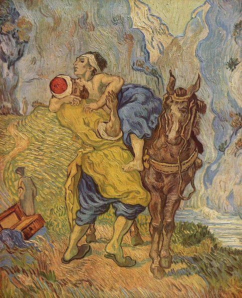 « Le bon samaritain ! L'homme et /ou le curé !»