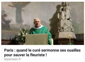 FB 180131 Le curé du 14ème - Article le Parisien du 30 01 18
