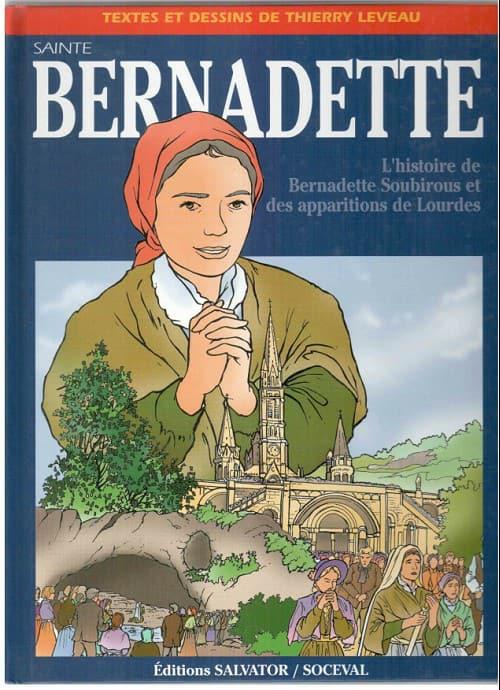 « La Sainte Vierge apparaît à la petite Bernadette»